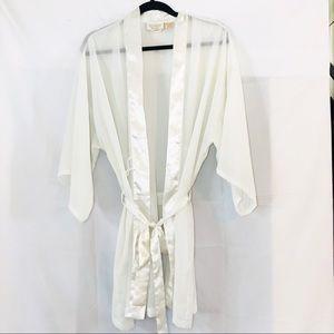 Vintage Victoria's Secret gold label sheer robe OS